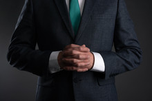 Businessman With A Crossed Arm...