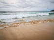 blue wave on beach Phuket Thailand