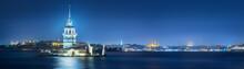 Maiden Tower In Bosphorus Stra...