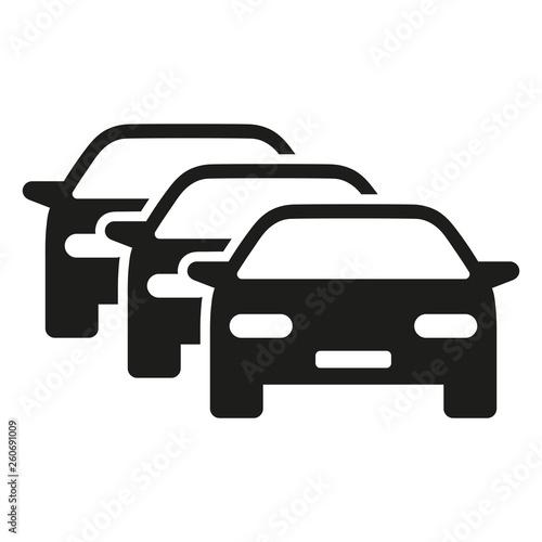 Fototapeta korek samochodowy ikona wektor obraz