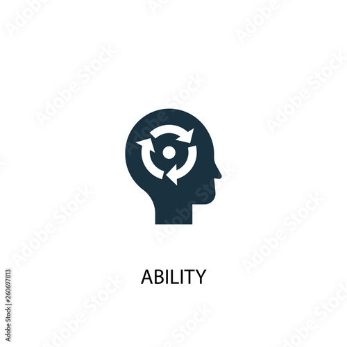 ability icon Wallpaper Mural