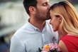 Leinwandbild Motiv Couple in love