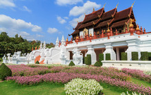 The Royal Ratchaphruek Park At Chiang Mai, Thailand.