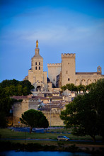 Palace Of The Popes, Avignon (France) - Historical Palace Located In Avignon, Southern France