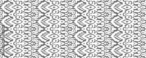 Foto auf AluDibond Boho-Stil Abstract Vector Seamless Pattern in Ethnic Style