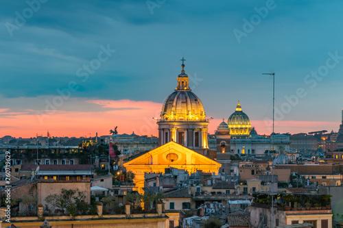 In de dag Madrid Vacaciones en Roma - Fotos nocturnas