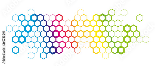 Hexagons Wallpaper Mural