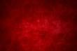Ungleichmäßiger schmutziger Hintergrund mit roter Farbe