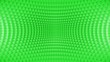 Leinwanddruck Bild - Abstract Distorted Box Background Green
