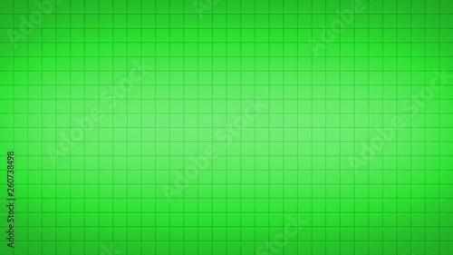 Leinwanddruck Bild - Anton : Tile Square Wall Pattern Background Green