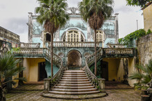 Old Liberty House At Sao Luis In Brazil