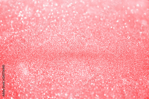 Photographie pink white glittering Christmas lights.