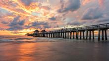 Famous Naples Pier, Florida