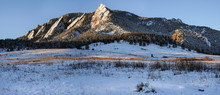 Flatirons Boulder Panorama