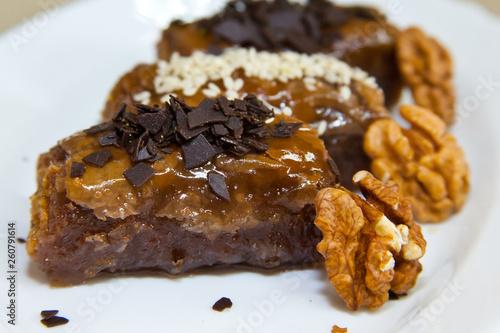 Fotografia  Eastern sweets chocolate cookies
