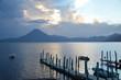 Coucher de Soleil Lac Atitlán Panajachel Guatemala