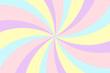 canvas print picture Vortex background. Stripes in retro pop art style