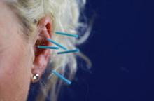 Close Up Of Human Female Ear W...