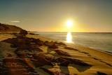Fototapeta Morze - Bassin d'Arcachon, Coucher de Soleil