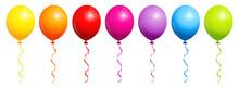 Luftballons Bunt Regenbogen