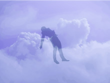 The Soul Of A Dead Man Rises Into The Sky