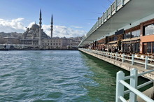 Yeni Cami Mosque In Istanbul, Turkey