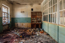 Abandoned Chemical Laboratory