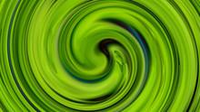 Green Vortex Liquid Background