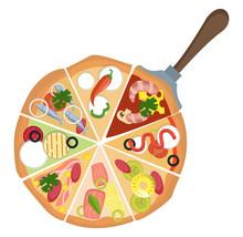 Different Kinds Of PizzaPrint