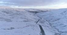 Snowy Swaledale