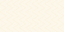 Abstract Geometric Line Pattern Seamless Orange Diagonal Line On White Background. Summer Vector Design.