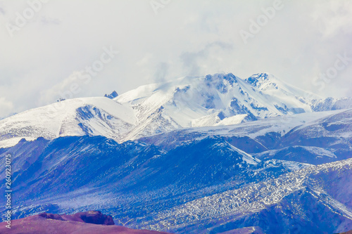Fototapety, obrazy: landscape of mountain on Qinghai Plateau,China.