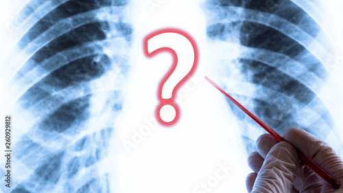The Question Of Health Or Lung Disease Medical Concept
