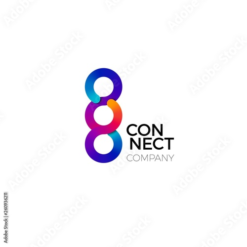 Photo  Vector Connect Symbol