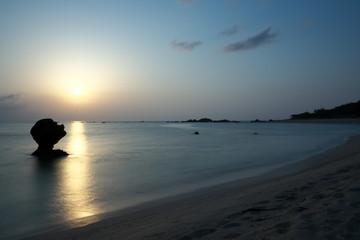 Amami Oshima, Japan - Tomori Beach, one of the most beautiful beach in Amami Oshima, in Kagoshima, Japan