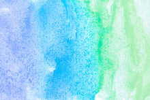 Abstract Watercolor Art Hand P...