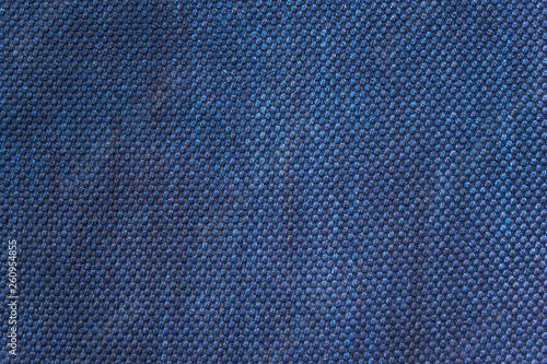 Obraz 藍染の木綿 布地テクスチャ - fototapety do salonu