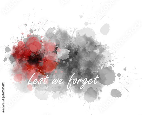 Fotografía  Lest we forget - abstract poppy