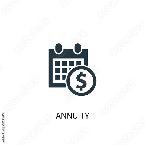 Photo annuity icon