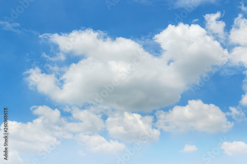 Canvas Prints Heaven White clouds on blue sky ,Bright nature background