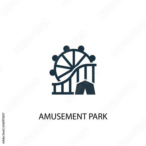 Foto  amusement park icon