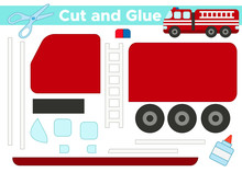 Cut And Glue, Educational Pape...