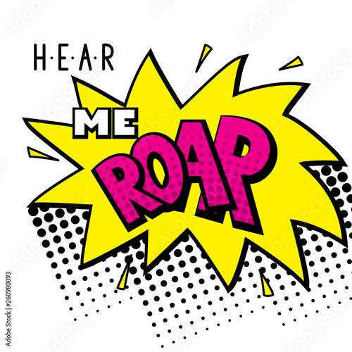 Photo  Hear me roar