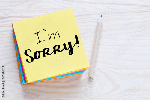 Fotografie, Tablou I`m sorry