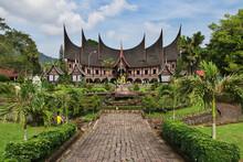 Temple, Sumatra, Indonesia