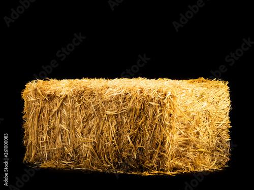 Fotografia, Obraz yellow dry barley straw
