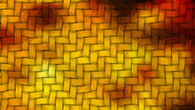 Red And Orange Weave Background