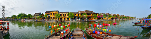Photo  Panoramic picture of Old Town in Hoi An, Vietnam