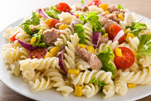 Pasta Salad With Vegetables An...