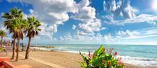 Benalmadena Beach. Malaga Prov...